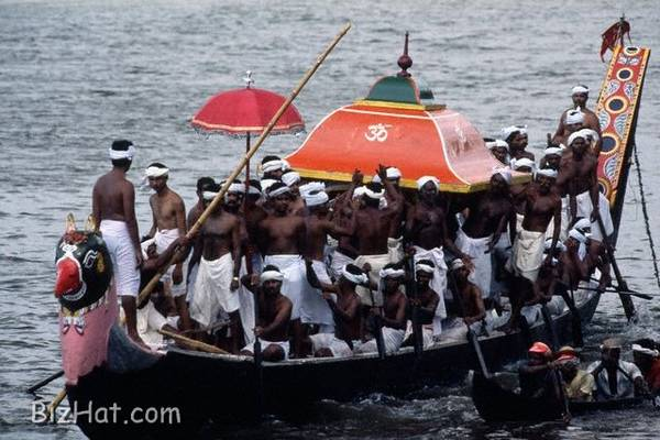 Kerala's beautiful  boat race