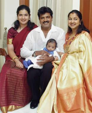 Sarathkumar_with_his_son_Rahul