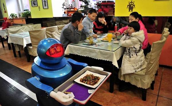 Robot Restaurant in Harbin
