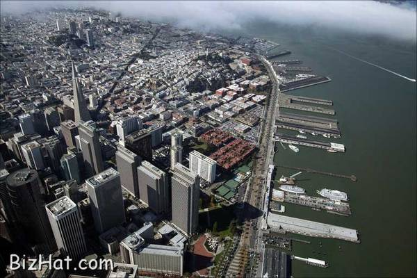 Sanfrancisco aerial