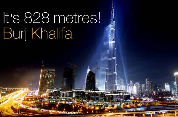 The world's tallest tower