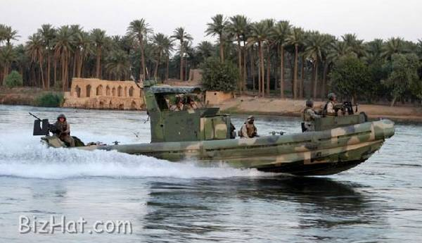 The Euphrates River in Iraq