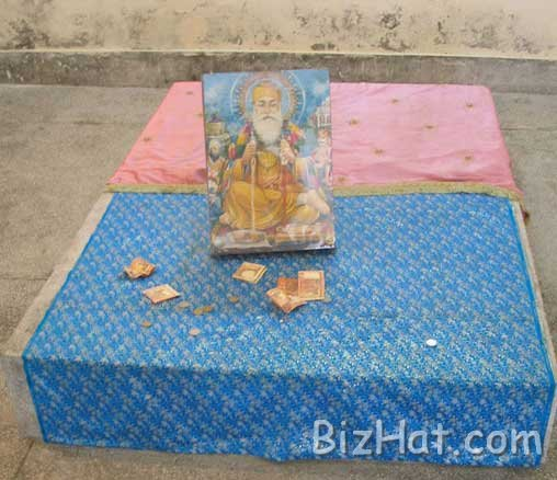 The-spot-where-Guru-ji-was-