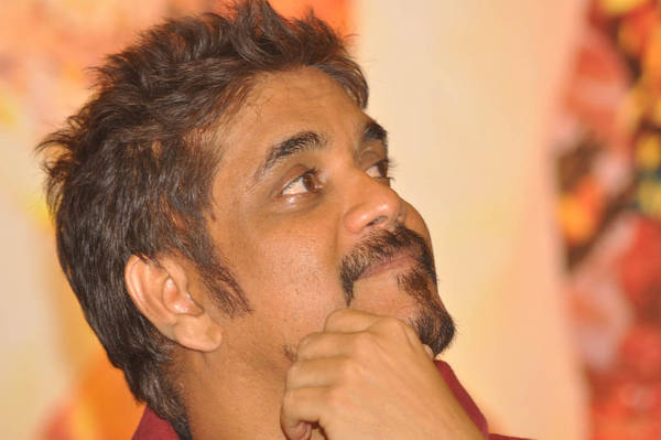 Nagarjuna New Look At Shirdi Sai Movie Press Meet . Tollywood new upcoming