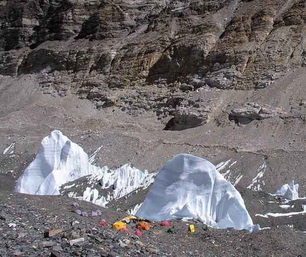 Mt Everest ice fins