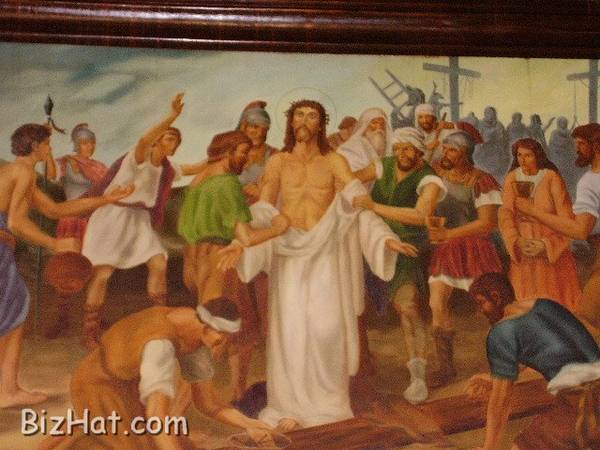 Way of the Cross  Painting