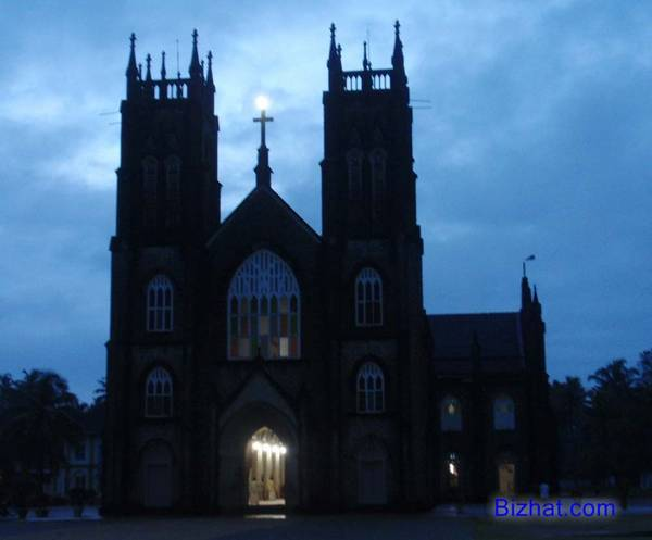 Arthunkal church at dawn