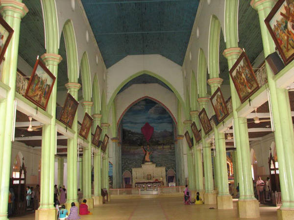 Church inside view