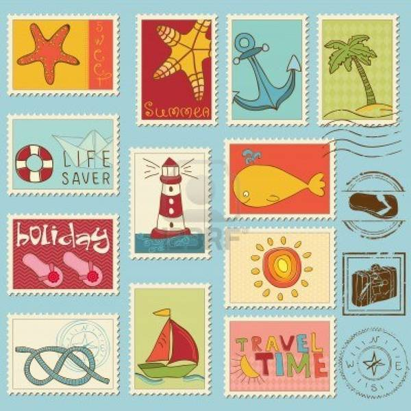 sea-elements--stamp-collection
