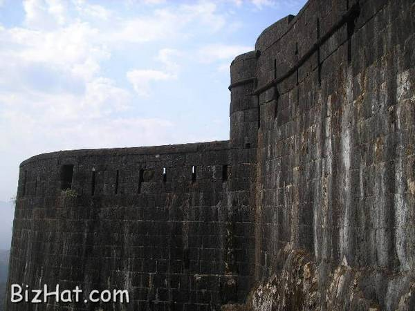 Strong fort walls