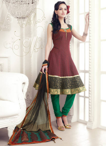 Party wear churidar