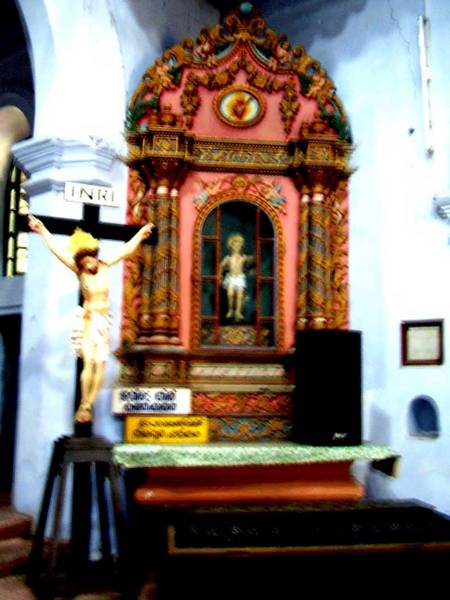 In-the-old-Arthunkal church