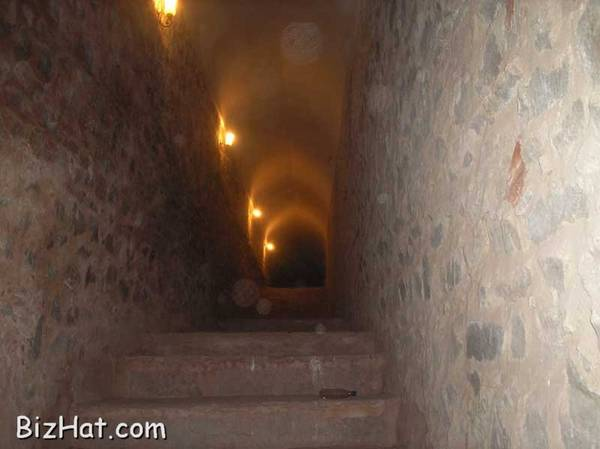 Underground tunnel to Jaigarh