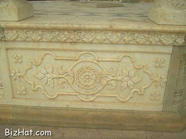 Work in marble