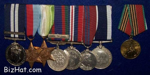 Medals of a British PO