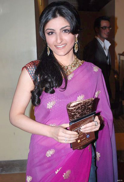 Soha-Ali-Khan-saree-photos