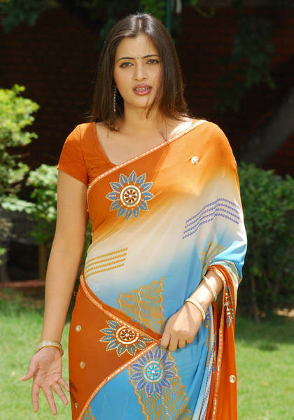 Actress in saree