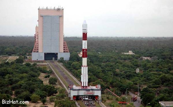 PSLV-C11 on its way to launchpad