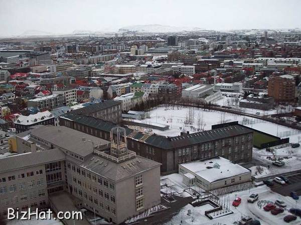 Reykjav, the capital