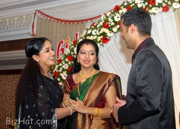 Kavya with Gopika and Ajilesh