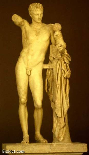 Hermes with Young Dionysus