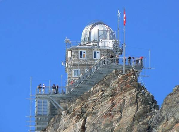 Sphinx Observatory at Swiss Alps