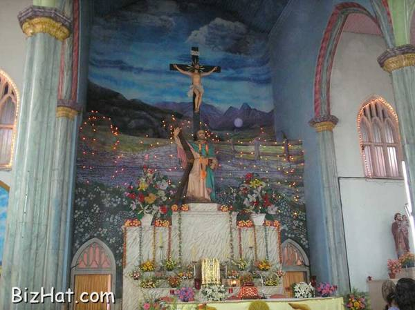 Arthunkal church altar