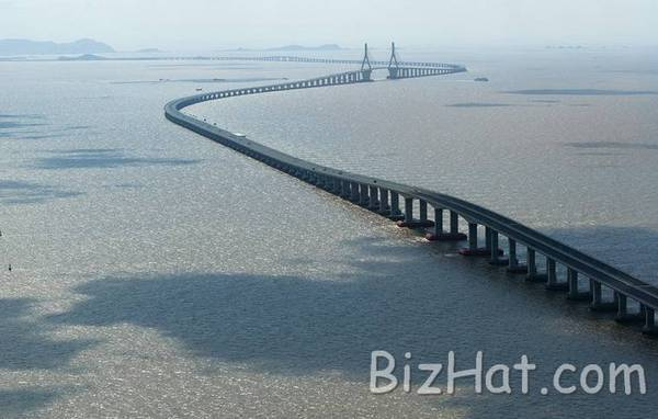 WORLD'S LONGEST BRIDGE............... CHINA