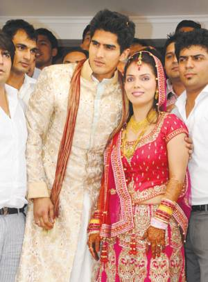 Vijender_Singh_Archana_wedding1