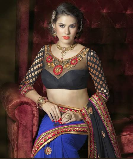 saree_blouse_models