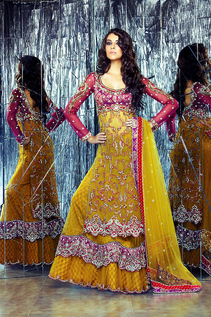 latest fashion lehengas, lehenga choli fashion, latest lehen