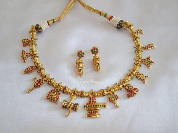 gold_Sivam_necklace_