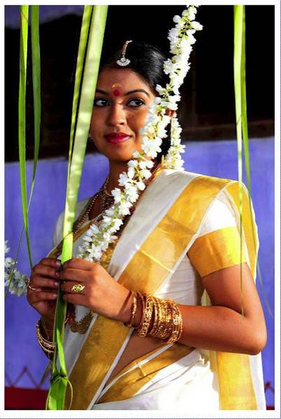 Actress in Set Saree