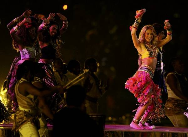Shakira Performs During World Cup Final