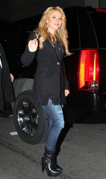 Pictures of Shakira in New York