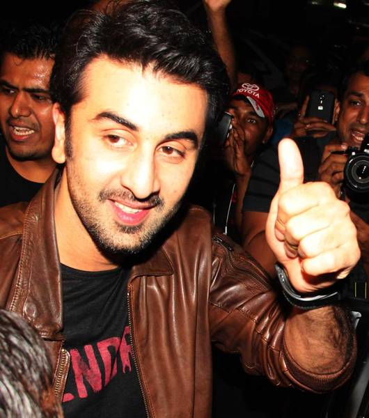 Ranbir Kapoor at Besharam Special Screening Photos