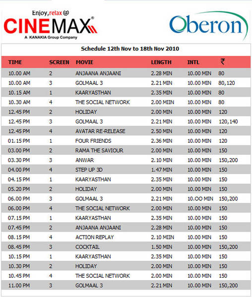 cinemax_oberon_mall