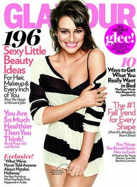 actress in magazine cover page