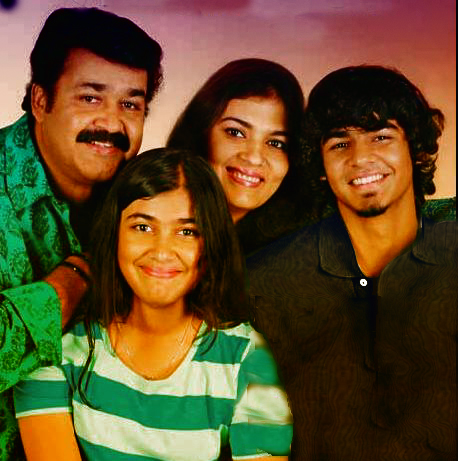 Mohanlal_family_pictures