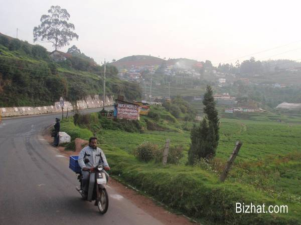 On the Ooty road