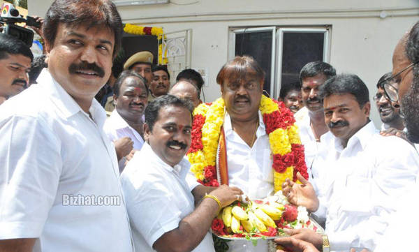 Vijayakanth Birthday Celebration Gallery