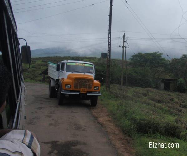 Lorry to Vagamon