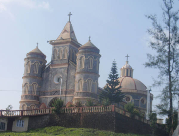 Church near Vandiperiyar