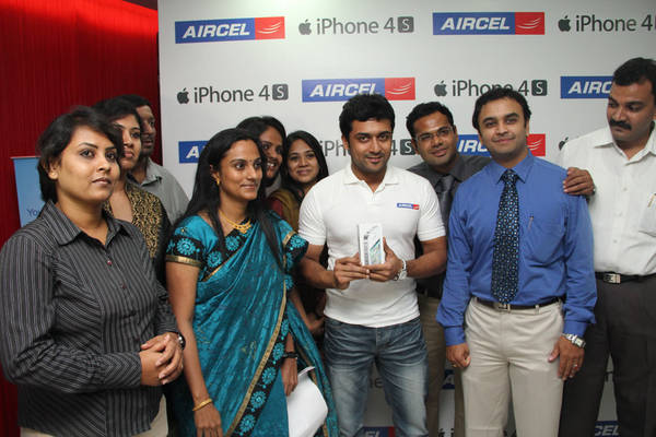 Surya Launches Aircel iPhone