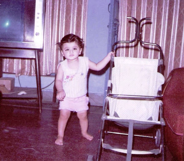Tapsee Childhood Photos