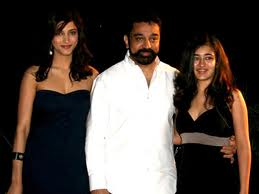 Kamalahasan_with_daughters