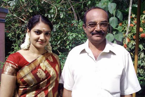Lavanya_with_father