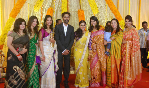 Tamil Actor Veera Bahu Wedding Reception