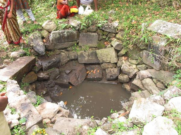 Well at Mangaladevi temple
