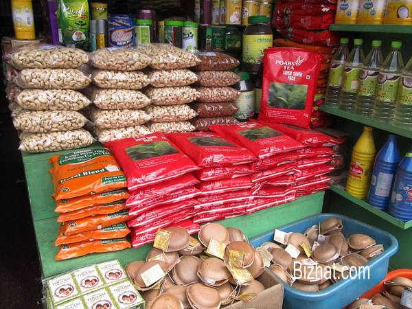 Kumily shops - Cashew nuts
